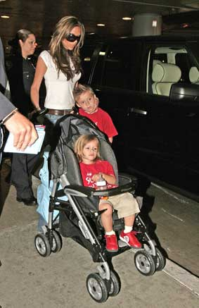 Victoria Beckham and kids