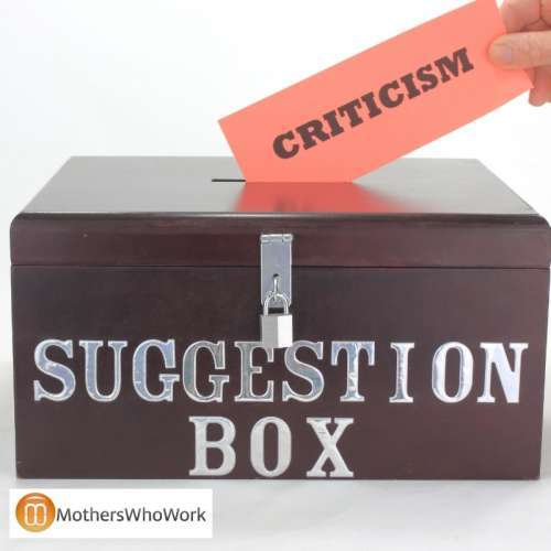 How to Deal with Criticism at Work and Elsewhere